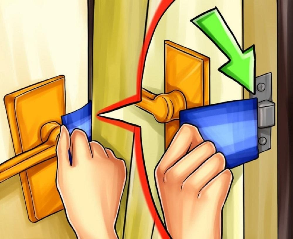 ¿Cómo abrir una puerta sin llave rápidamente?