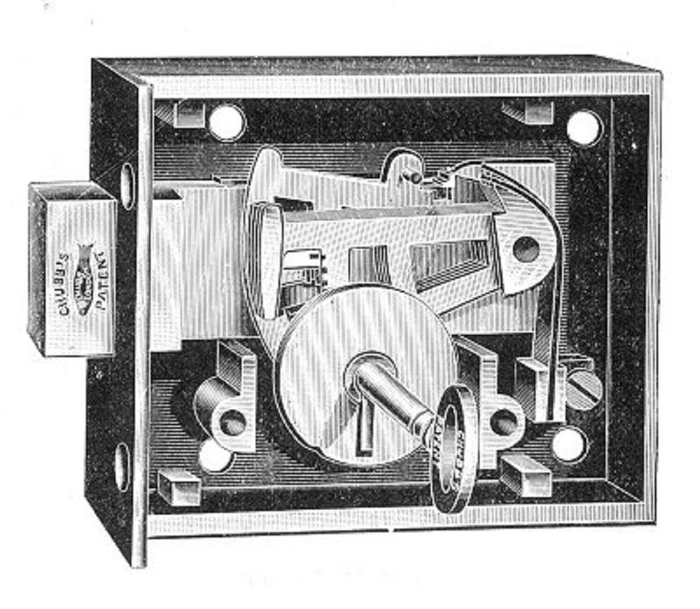 Cerradura del detector de Chubb