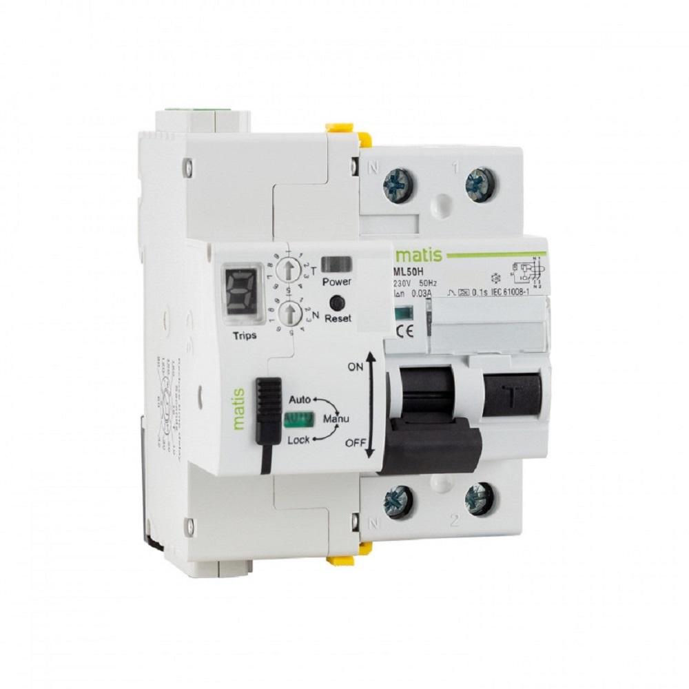 interruptor de seguridad autorearmable